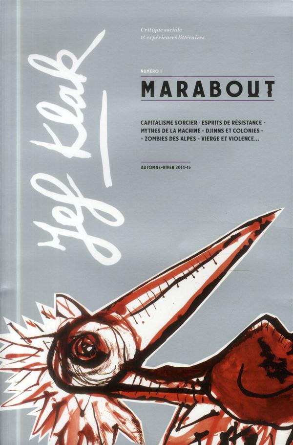 JEF KLAK N.1  -  MARABOUT  -  PRINTEMPS- ETE 2014