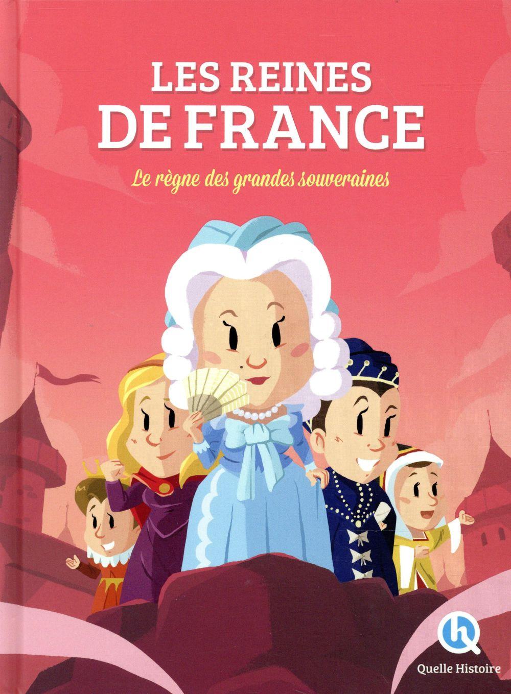 LES REINES DE FRANCE V. BARON CLEMENTINE QUELLE HISTOIRE