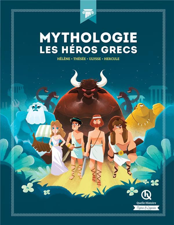 MYTHOLOGIE, LES HEROS GRECS  -  HELENE -  THESEE, ULYSSE, HERCULE