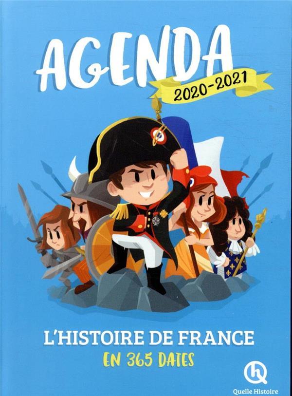 AGENDA L'HISTOIRE DE FRANCE EN 365 DATES (EDITION 20202021)