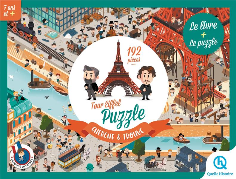 TOUR EIFFEL : PUZZLE CHERCHE ET TROUVE XXX QUELLE HISTOIRE