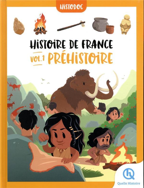 HISTOIRE DE FRANCE T.1 : PREHISTOIRE XXX QUELLE HISTOIRE