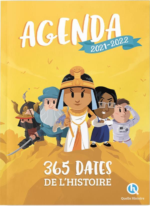 AGENDA : 365 DATES DE L'HISTOIRE (EDITION 20212022) XXX NC