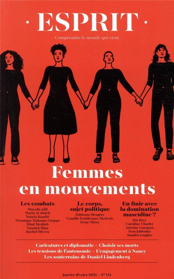ESPRIT N.471  -  JANVIER-FEVRIER 2021  -  FEMMES EN MOUVEMENTS  COLLECTIF NC