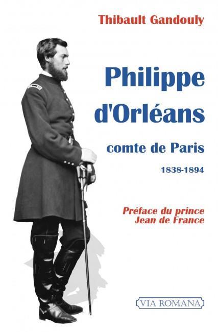PHILIPPE D'ORLEANS, COMTE DE PARIS