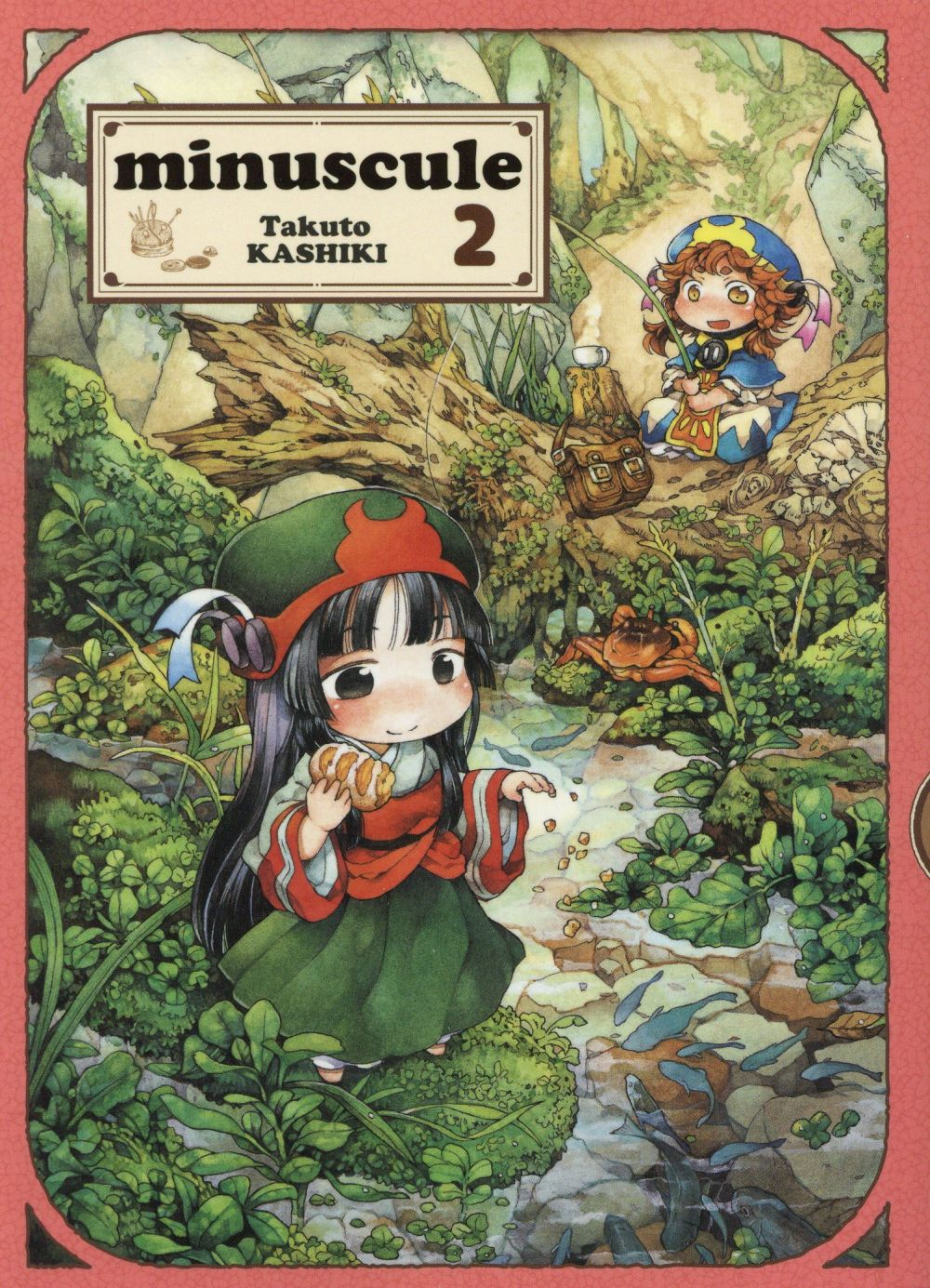 MINUSCULE - TOME 2 - VOL02 KASHIKI TAKUTO KOMIKKU