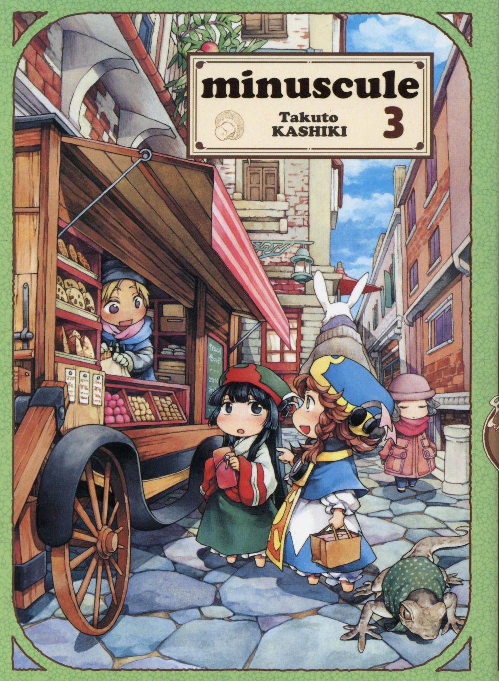 MINUSCULE - TOME 3 - VOL03 KASHIKI TAKUTO KOMIKKU