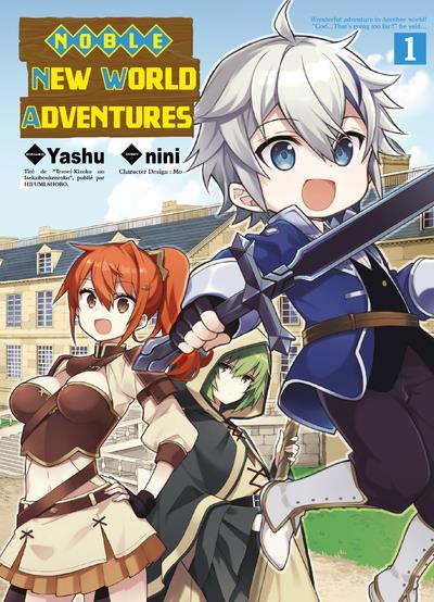 NOBLE NEW WORLD ADVENTURES T01 - VOLUME 01  KOMIKKU