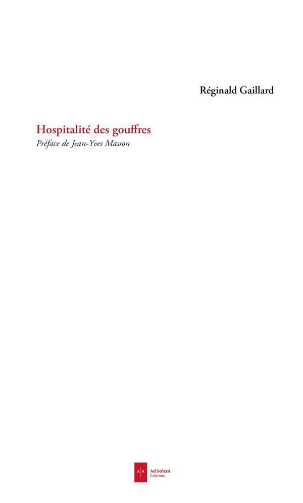 HOSPITALITE DES GOUFFRES