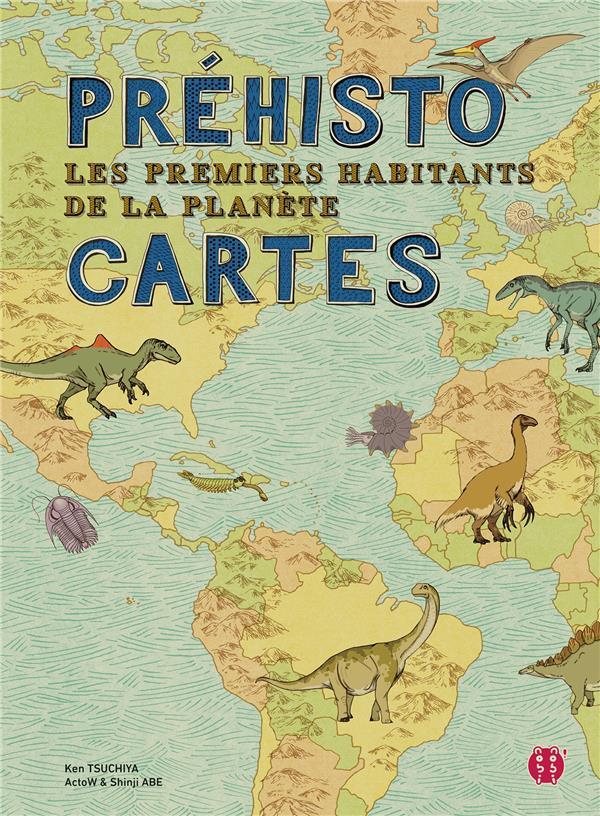 PREHISTO-CARTES  -  LES PREMIERS HABITANTS DE LA PLANETE