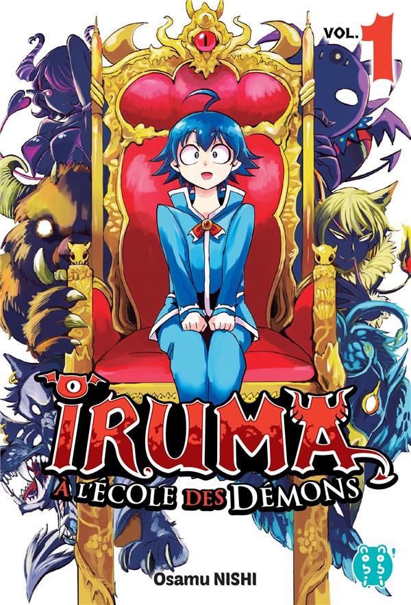 IRUMA A L'ECOLE DES DEMONS T.1 NISHI, OSAMU NOBI NOBI