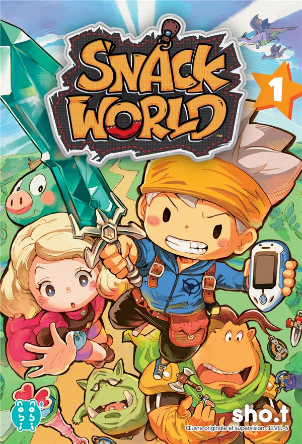 SNACK WORLD T.1
