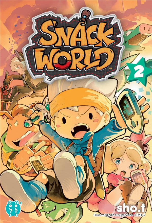 SNACK WORLD T.2