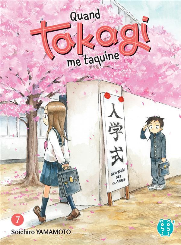 QUAND TAKAGI ME TAQUINE T.7 YAMAMOTO SOICHIRO NOBI NOBI