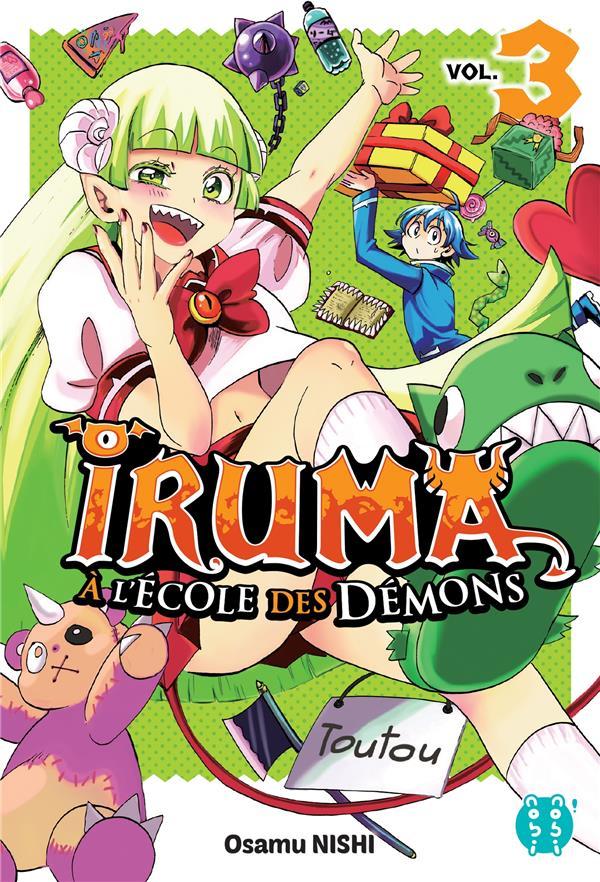 IRUMA A L'ECOLE DES DEMONS T.3 NISHI OSAMU NOBI NOBI