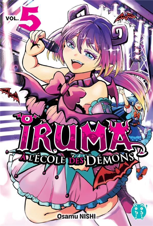 IRUMA A L'ECOLE DES DEMONS T.5 NISHI, OSAMU NOBI NOBI
