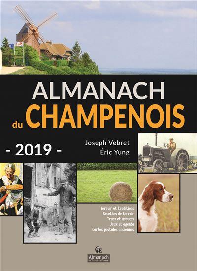 ALMANACH 2019 CHAMPENOIS JOSEPH VEBRET PELICAN