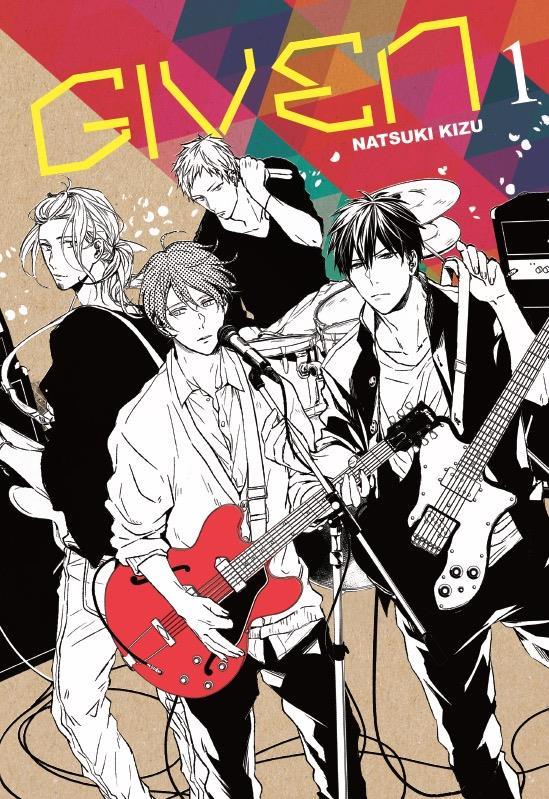 GIVEN T.1 KIZU, NATSUKI Taifu comics