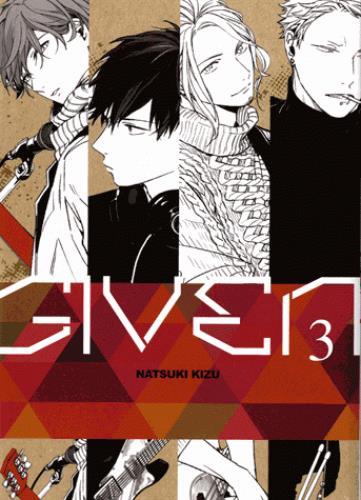 GIVEN T.3 NATSUKI KIZU TAIFU COMICS