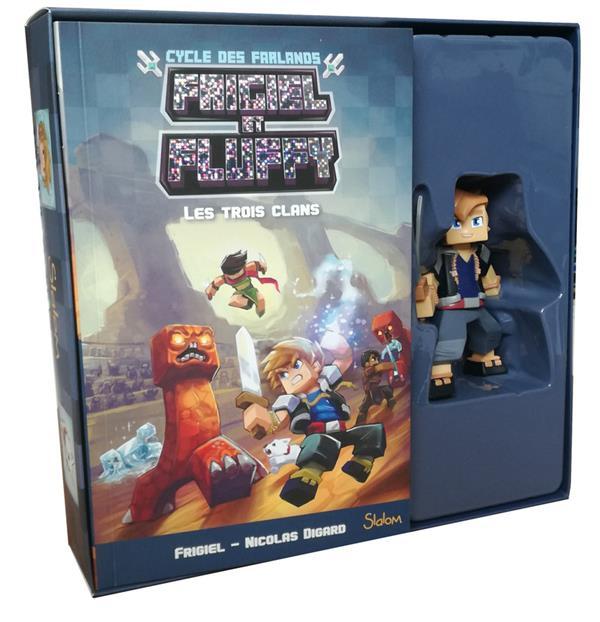 FRIGIEL ET FLUFFY - CYCLE DES FARLANDS T.1  -  LES TROIS CLANS