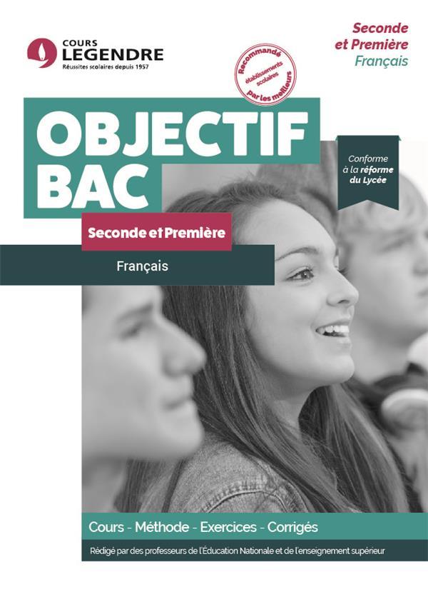 COURS LEGENDRE  -  FRANCAIS  -  SECONDEPREMIERE  -  COURS, METHODE, EXERCICES CORRIGES (EDITION 2021) JAROUSSEAU, DAVID EDICOLE