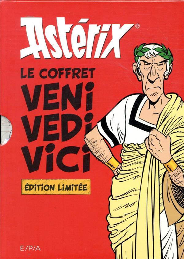 ASTERIX - LE COFFRET VENI VIDI VICI MOLIN BERNARD-PIERRE EPA