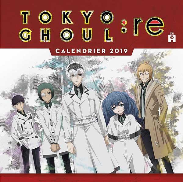 TOKYO GHOUL CALENDRIER 2019 XXX Lgdj
