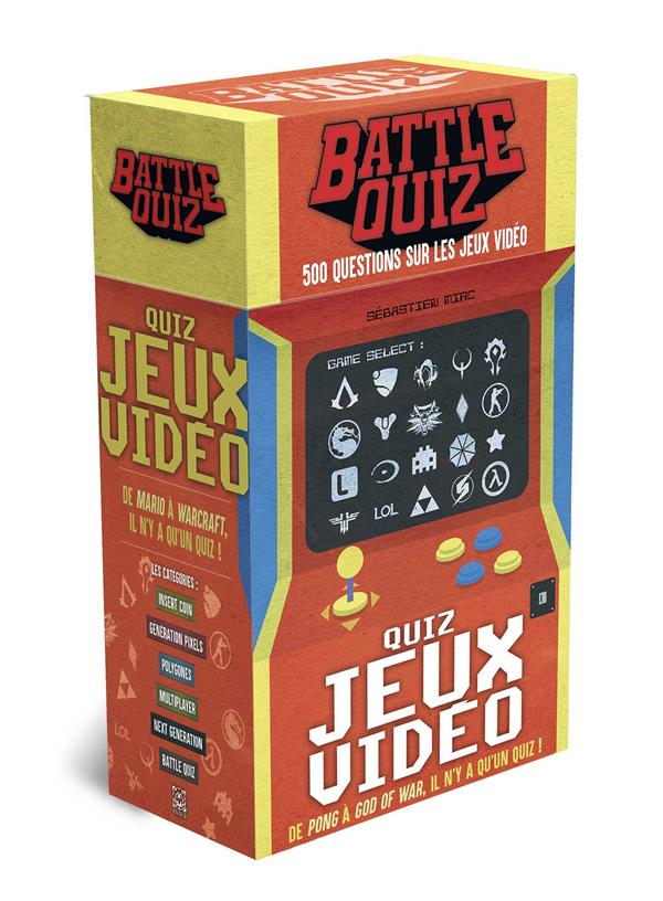 QUIZ JEUX VIDEO - BATTLE QUIZ XXX YNNIS