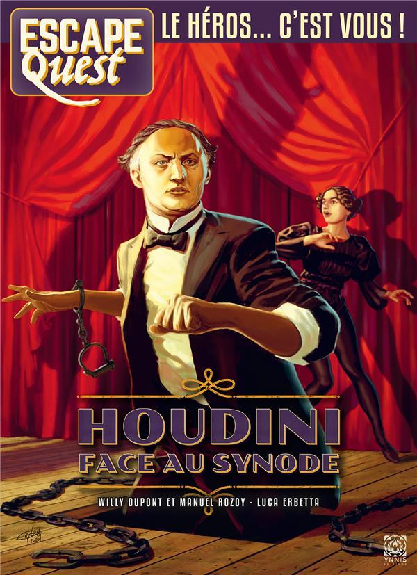 ESCAPE QUEST N.8  -  HOUDINI FACE AU SYNODE