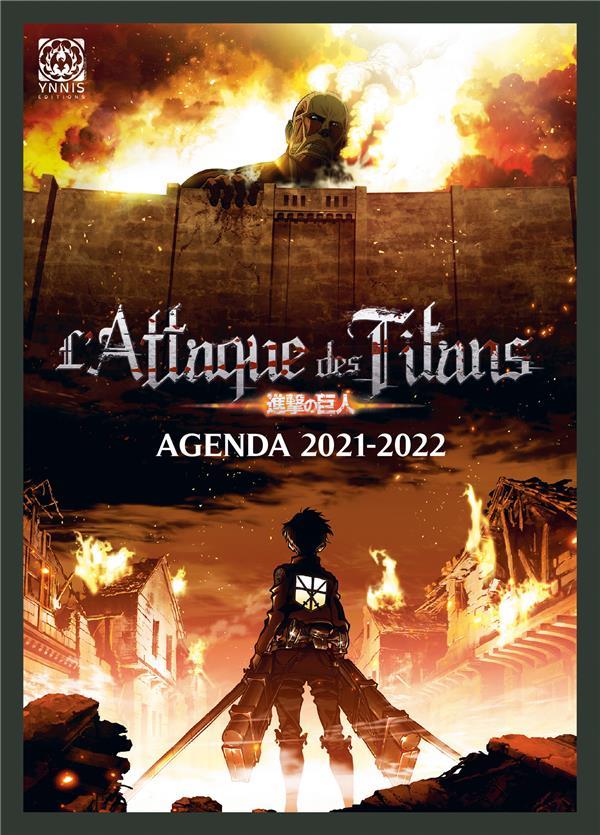 L'ATTAQUE DES TITANS  -  AGENDA (EDITION 20212022) XXX NC