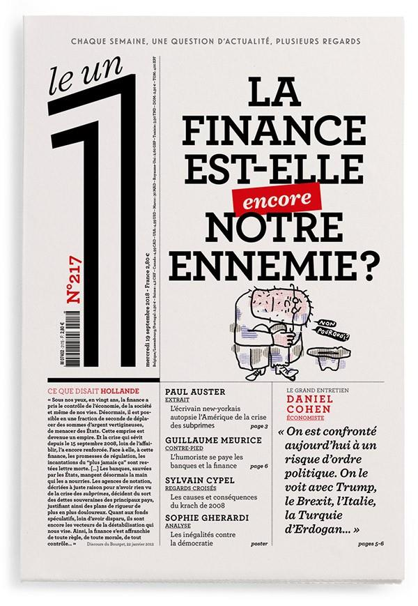 LE 1 NUMERO 217 LA FINANCE EST COLLECTIF LE UN