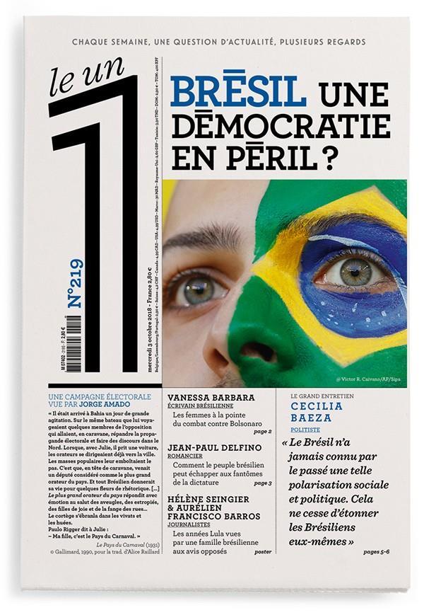 LE 1 NUMERO 219 BRESIL UNE DEM COLLECTIF LE UN