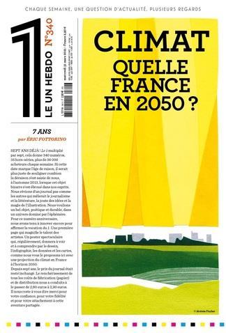 LE 1 N.340  -  CLIMAT : QUELLE FRANCE EN 2050 ? COLLECTIF NC