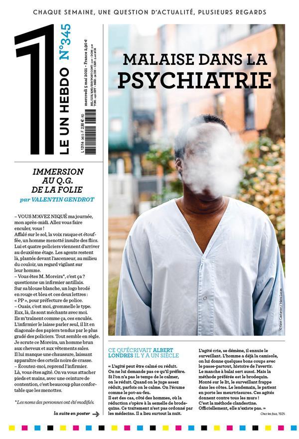 LE 1 N.345  -  MALAISE DANS LA PSYCHIATRIE LE 1 NC