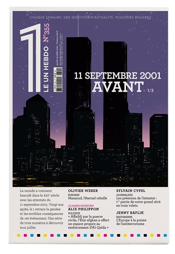 LE 1 N.355  -  11 SEPTEMBRE 2001 : AVANT