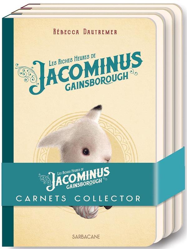 LOT DE 3 CARNETS JACOMINUS COL DAUTREMER REBECCA SARBACANE