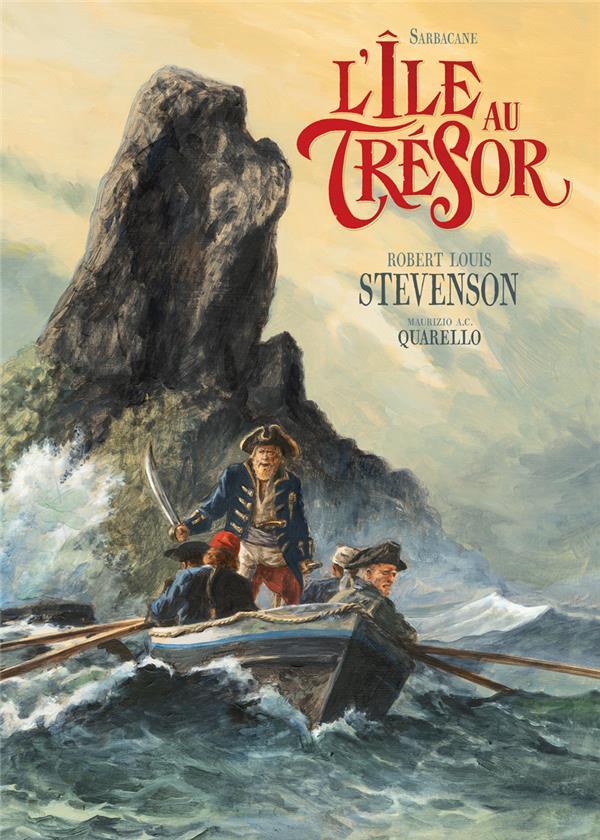 L-ILE AU TRESOR STEVENSON/QUARELLO SARBACANE
