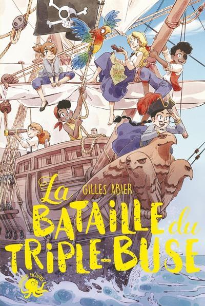 LA BATAILLE DU TRIPLE-BUSE ABIER/LUDVIN POULPE FICTIONS