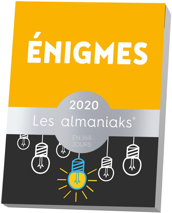 ALMANIAK ENIGMES (EDITION 2020) MYERS BERNARD 365 PARIS