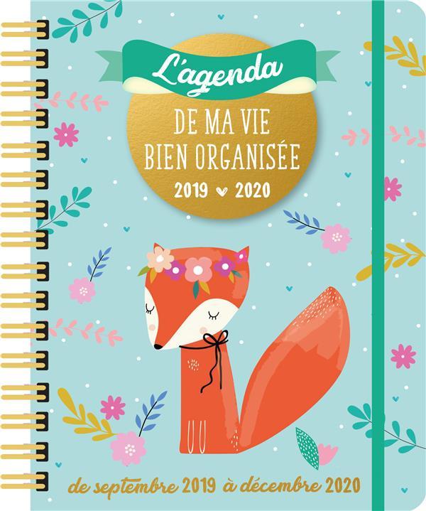 L AGENDA DE MA VIE BIEN ORGANISEE 2019-2020 XXX Lgdj