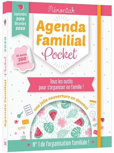 AGENDA FAMILIAL MEMONIAK POCKET 2019-2020