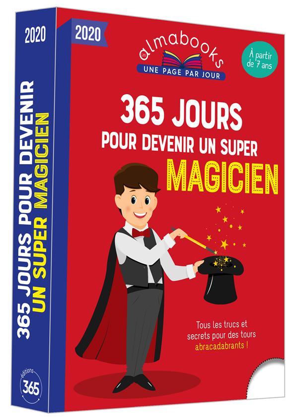 ALMABOOK  -  365 JOURS POUR DEVENIR UN SUPER MAGICIEN (EDITION 2020) GAUVAIN  365 PARIS
