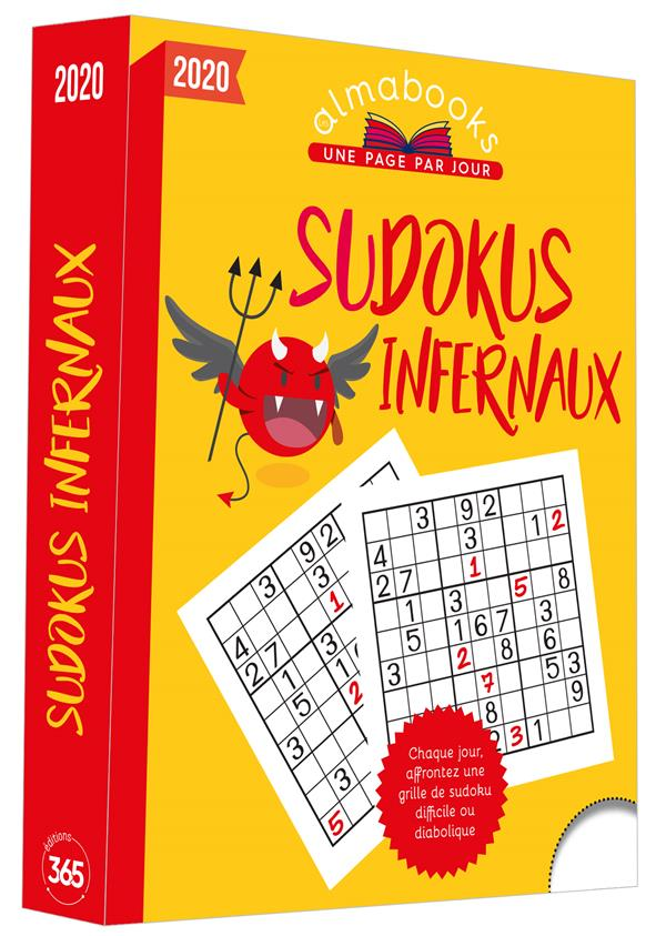 ALMABOOK  -  SUDOKUS INFERNAUX (EDITION 2020) XXX 365 PARIS