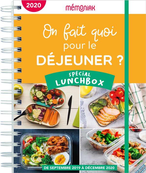 MEMONIAK  -  ON FAIT QUOI POUR LE DEJEUNER ? SPECIAL LUNCHBOX (EDITION 20202021) BERQUE, FREDERIC 365 PARIS