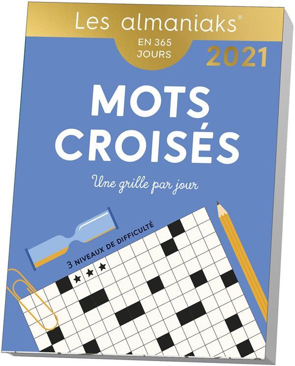 MOTS CROISES (EDITION 2021) COLLECTIF 365 PARIS