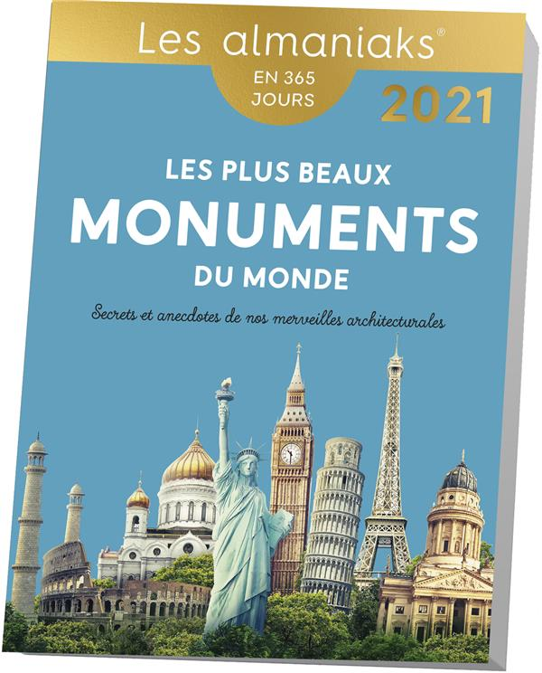 LES PLUS BEAUX MONUMENT DU MONDE (EDITION 2021) COLLECTIF 365 PARIS