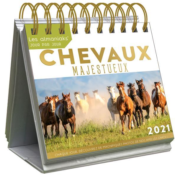 LE GRAND ALMANIAK CHEVAUX MAJESTUEUX (EDITION 2021) COLLECTIF 365 PARIS