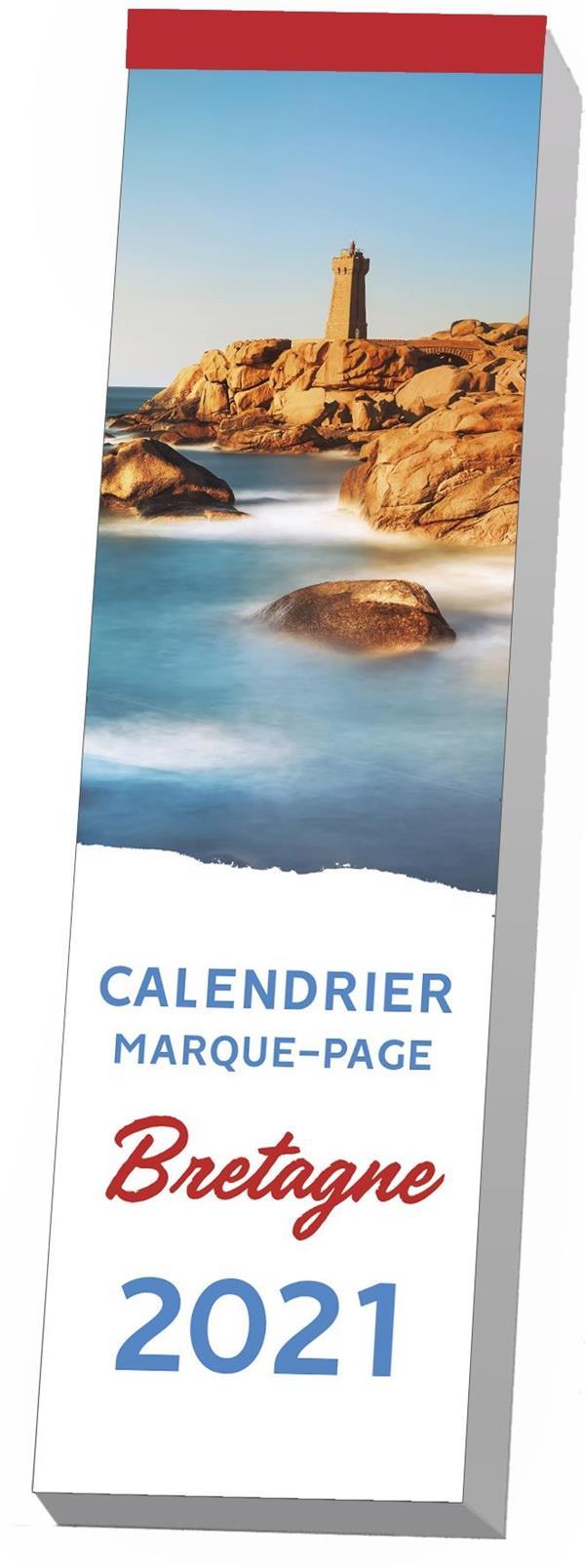 CALENDRIER MARQUE-PAGE  -  BRETAGNE (EDITION 2021) EDITIONS 365 NC