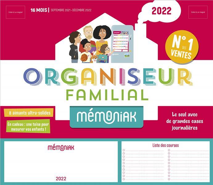 MEMONIAK  -  ORGANISEUR FAMILIAL (EDITION 20212022) COLLECTIF NC