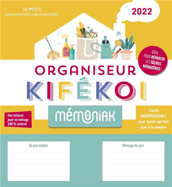 MEMONIAK  -  ORGANISATEUR KIFEKOI (EDITION 20212022) XXX NC